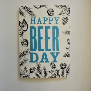 Happy Beer Day Card