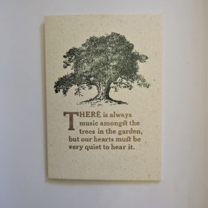 Music Amongst the Trees Card