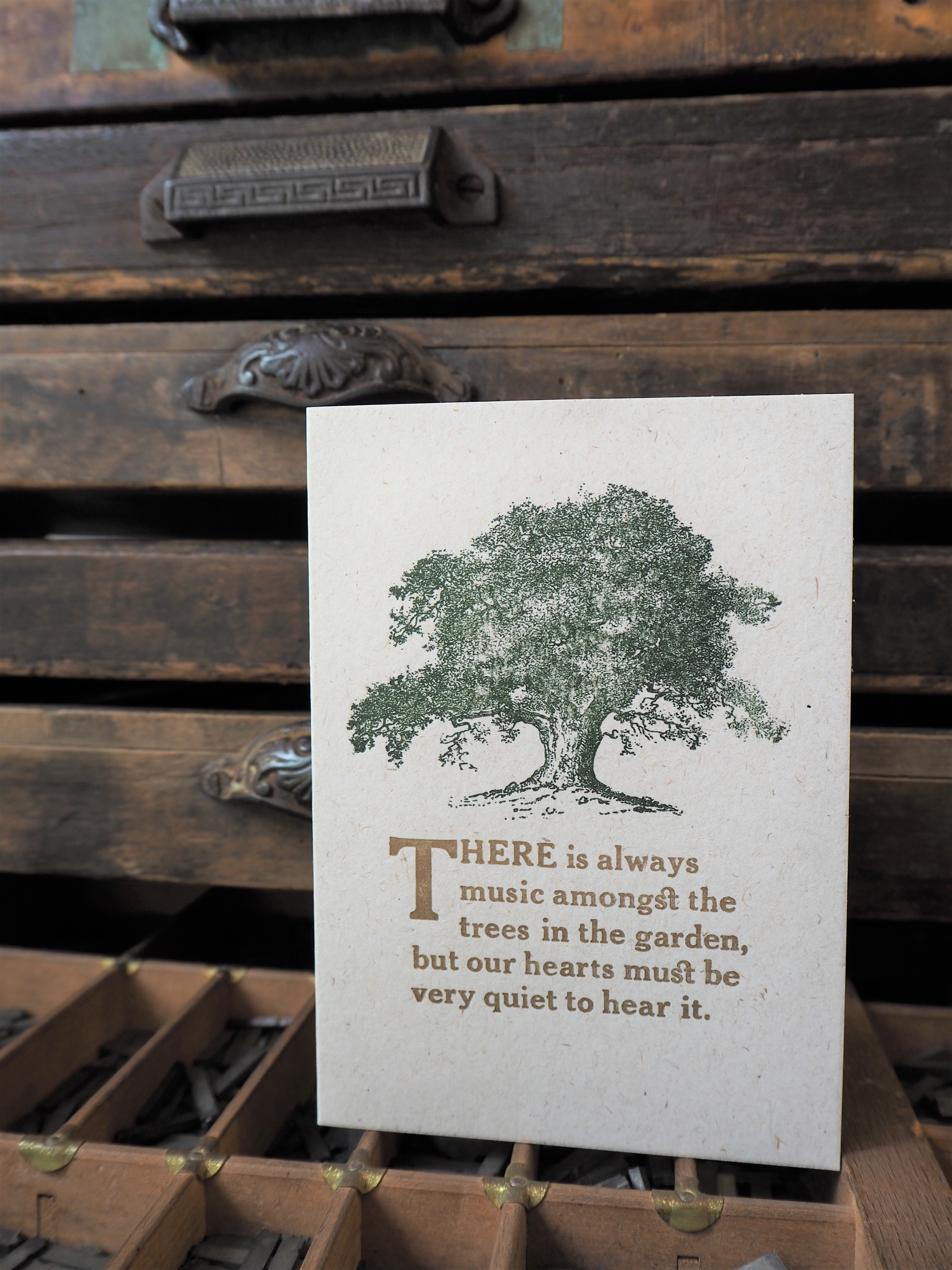 Music Amongst the Trees - Blank Card