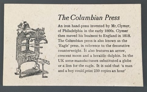 An Archive: The Columbian Press