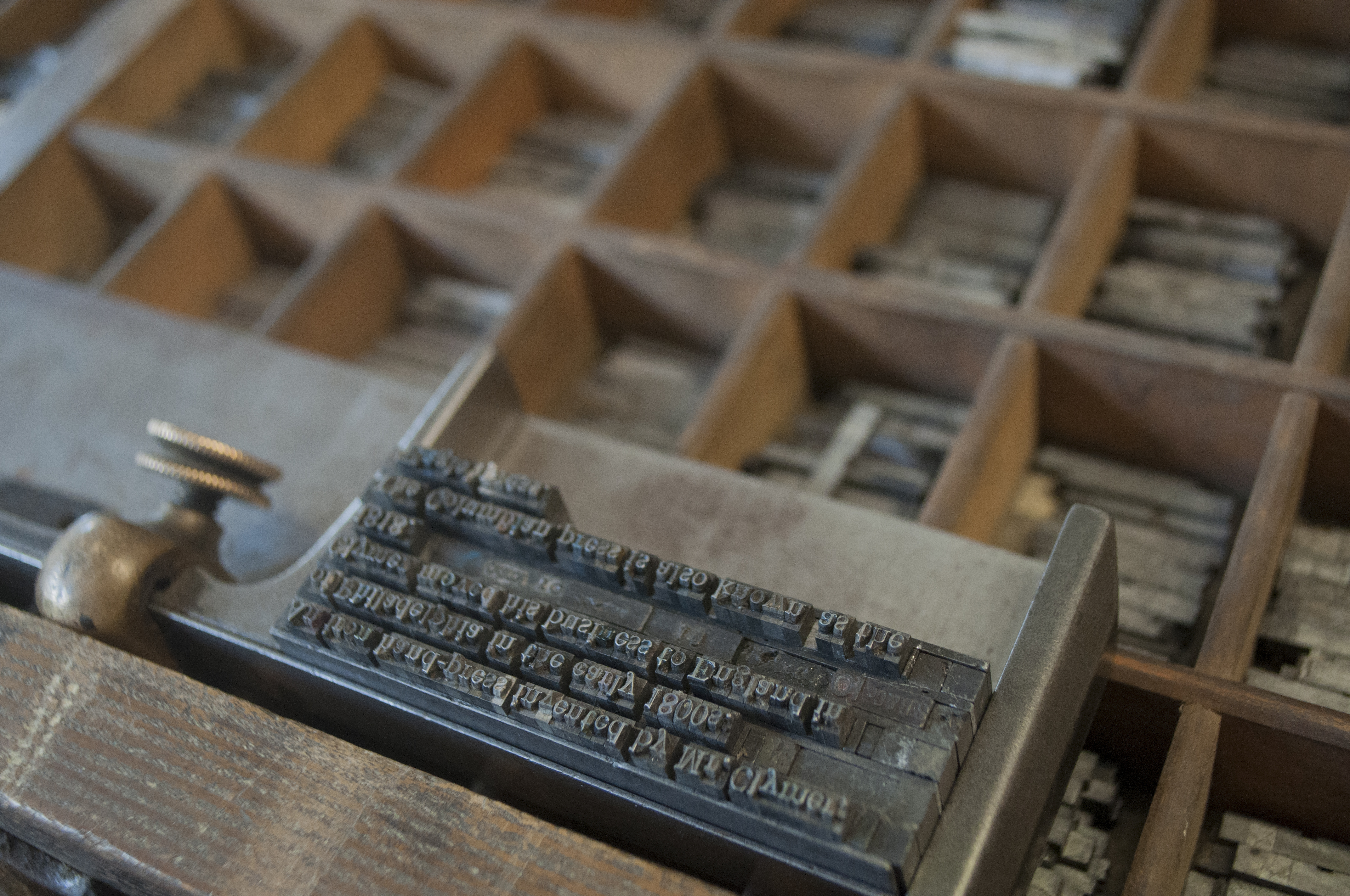 An Archive: Setting the type