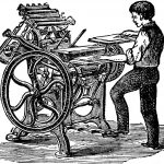 Restoration Minerva: Printing Press c.1875