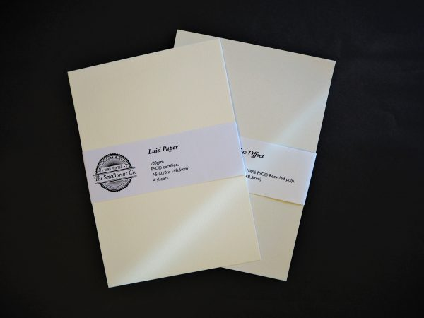 Bookbinding Paper- endpapers and book block