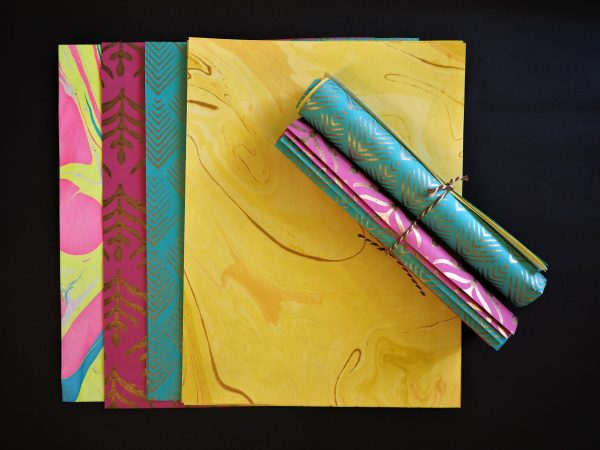Decorative handmade papers - various designs available