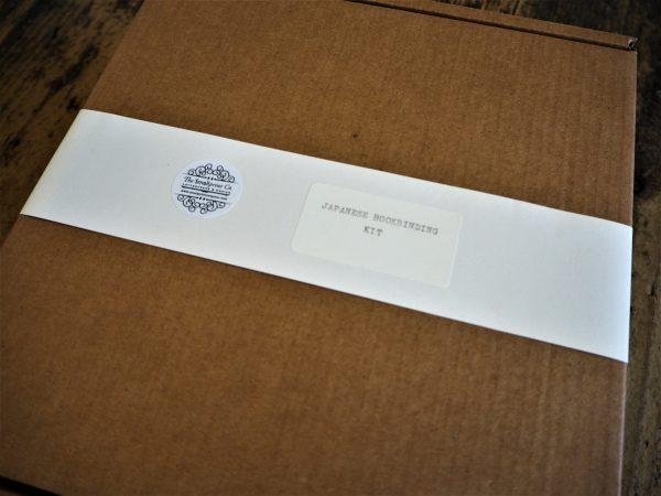 Japanese Stab Binding kit label