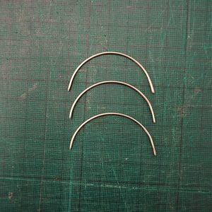 Curved Bookbinding Needles
