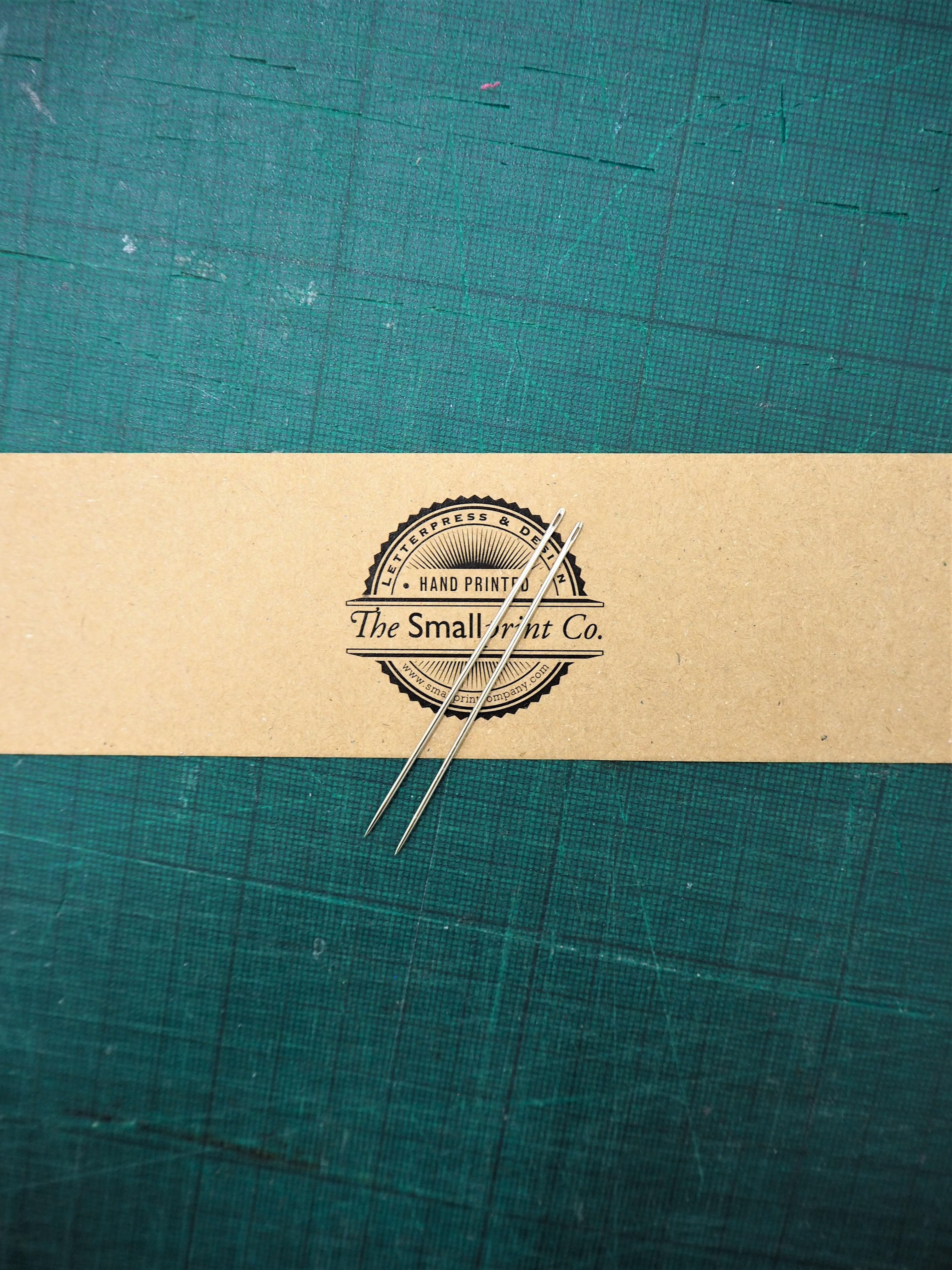 Straight Bookbinding Needles