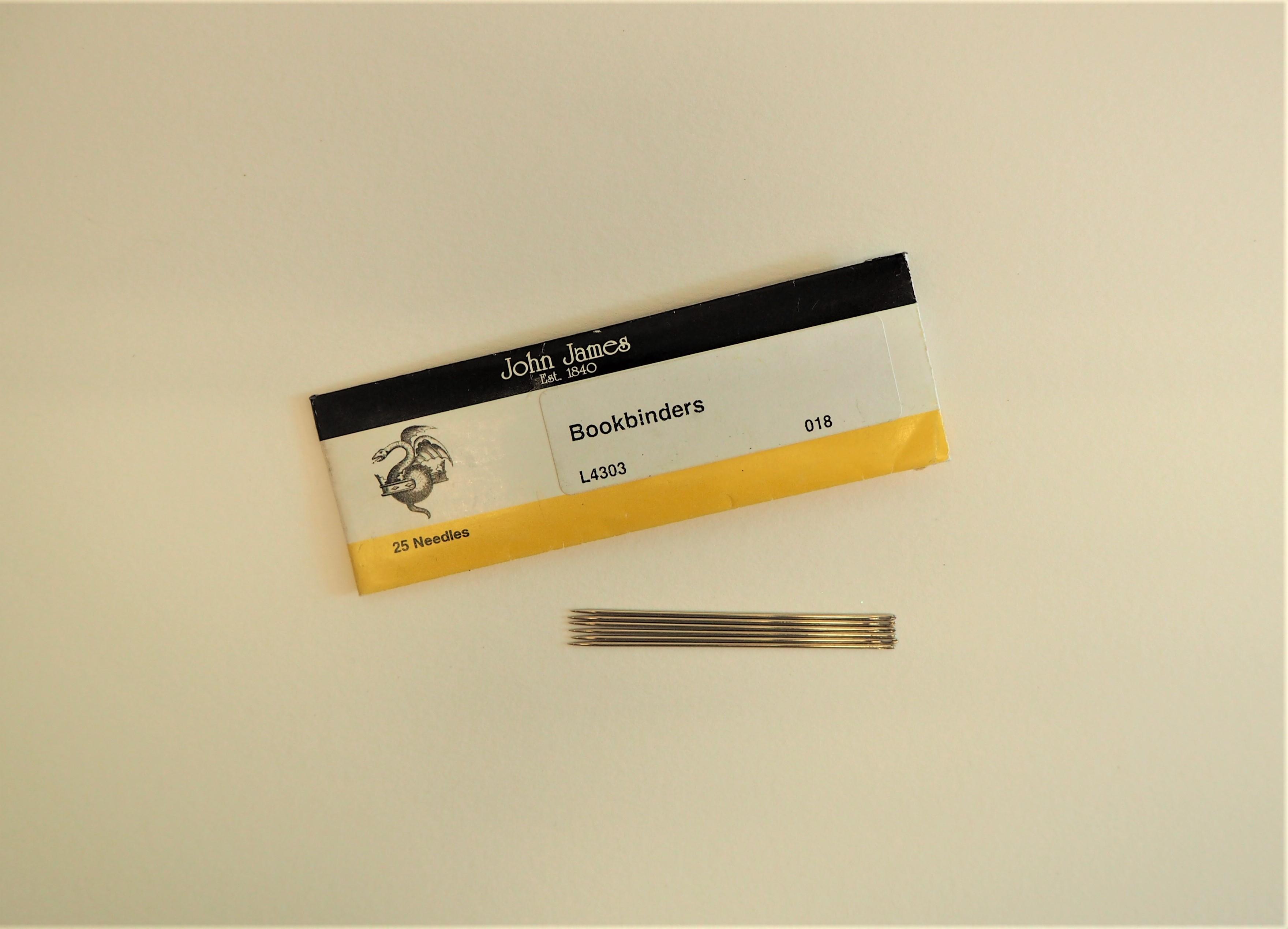 Straight Bookbinding Needles - 5