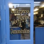The Letterpress Print Shop at Winterbourne