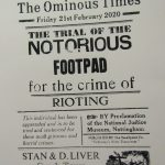 The Ominous Times - The notorious Footpad