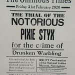 The Ominous Times - The notorious Pixie Styx