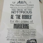 The Ominous Times - The notorious Al 'The Robber'