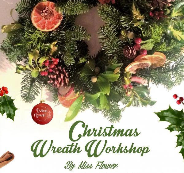Christmas Wreath Workshop with Miss Flower