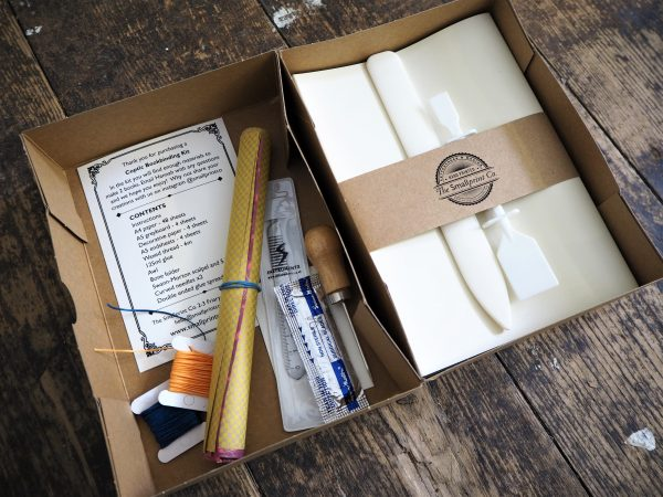 Kit & Caboodle Coptic Bookbinding Kit with online workshop