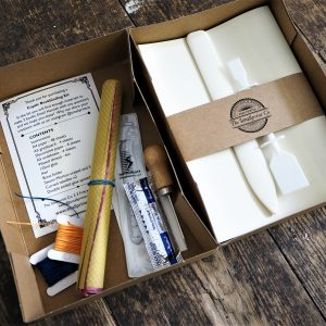 Coptic Bookbinding Kit with online workshop