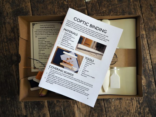 Kit & Caboodle Coptic Bookbinding Kit instructions