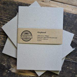 A5 Greyboard - 4 sheets