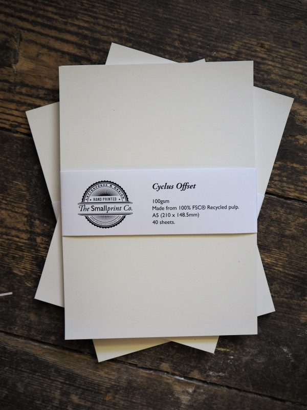 A5 Paper Pack - 100gsm recycled paper
