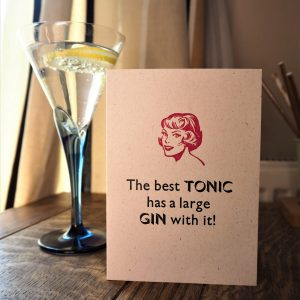 Best Gin and Tonic Card