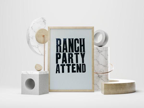 Print a Poster framed print