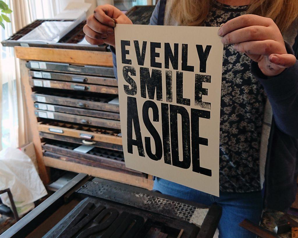 Print a Poster printed