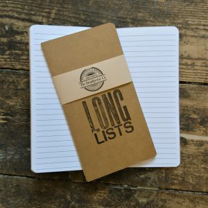 Long Lists Notebook - lined