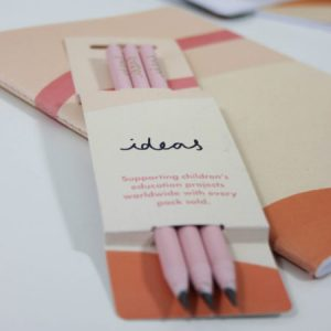 Pink Recycled Pencils - design
