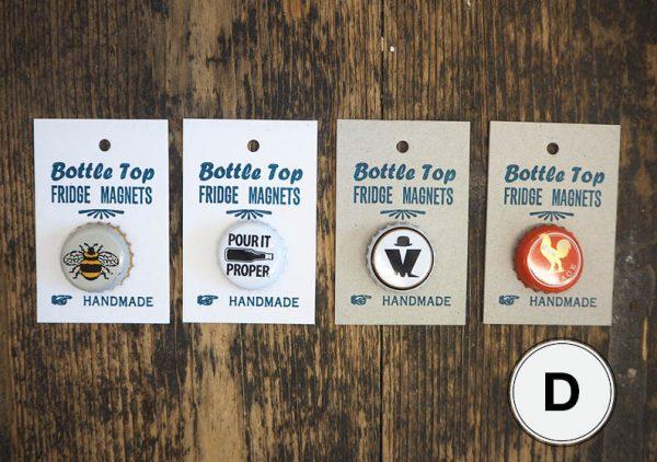Bottle Top Fridge Magnets D
