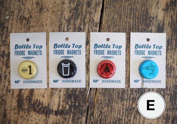 Bottle Top Fridge Magnets E