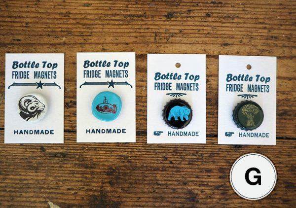 Bottle Top Fridge Magnets G