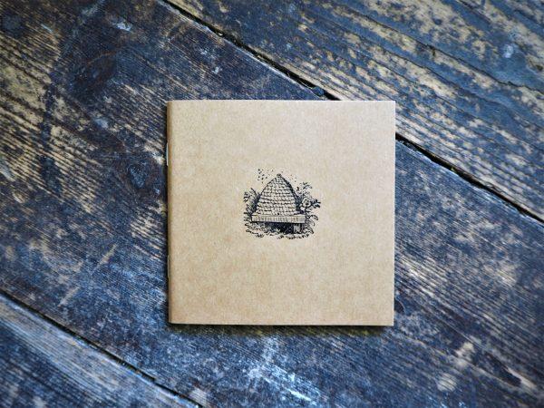 Beehive Notebook - kraft