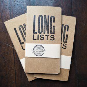 Long Lists notebook