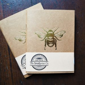 Gold Bee Notebook