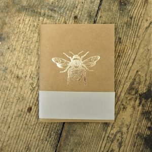 Rose Gold Bee Notebook
