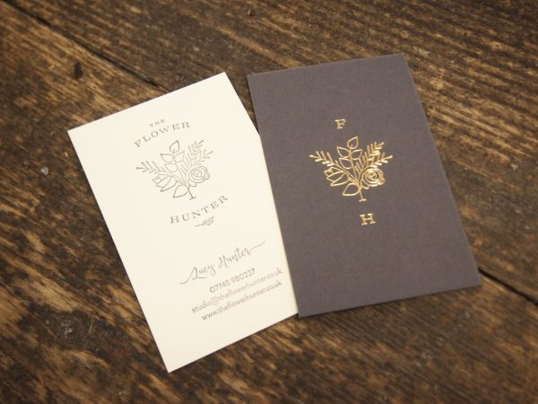 Business Cards - Florist Lucy Hunter