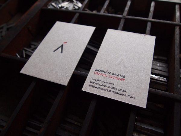 Business Cards - Designer Siobhan Baxter