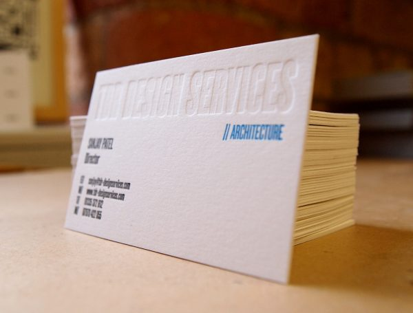 Business Cards - Architect, TDR Design Services