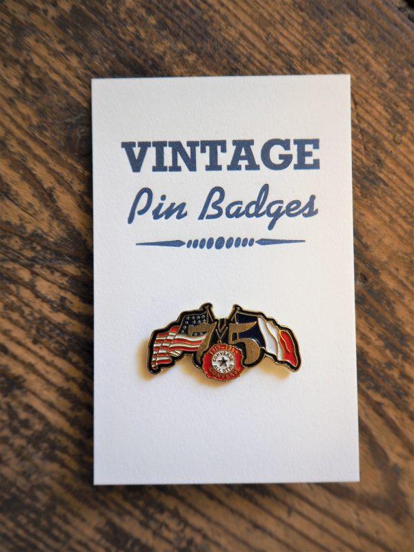 Vintage Enamel Pin Badge - Converse Allstars