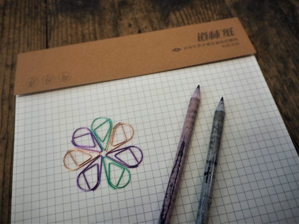 Squared paper notepad - 20 sheets