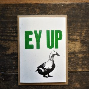 Ey Up Card