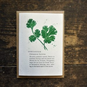 Coriander Card