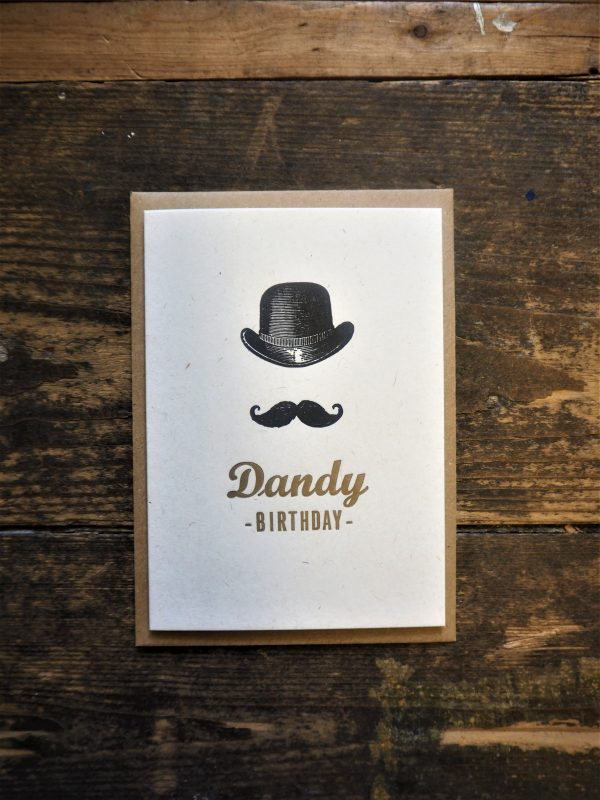 Dandy Birthday Card