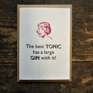 The Best Gin Card