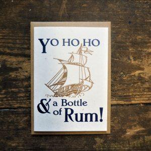 Yo Ho Ho Card