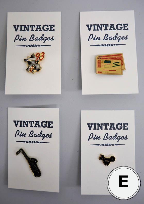 Pin Badge E
