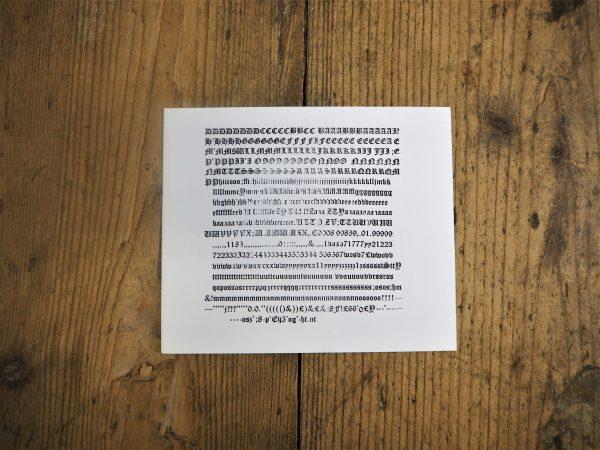 Blackletter Olde English - 12pt - 20a, TSCBL3