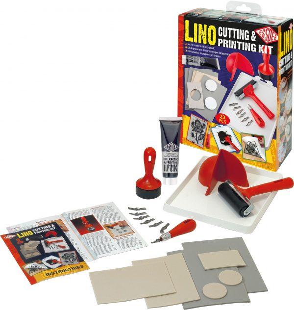 Lino Print Kit - contents