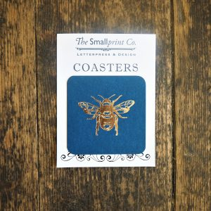 Gold Bee Coasters