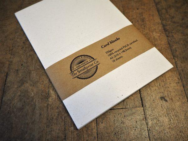 Card Blanks Pack - 10