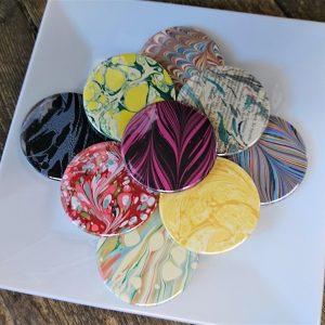 Pocket mirrors by Jemma Lewis